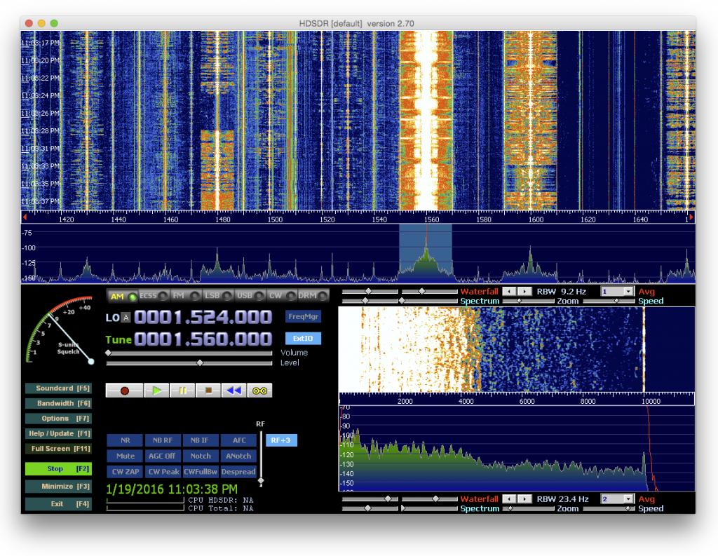 HDSDR - SDRplay